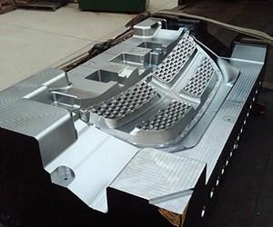 P20 automotive grill mold