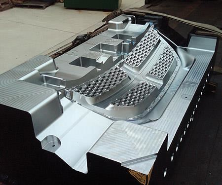 P20 automotive grill mold