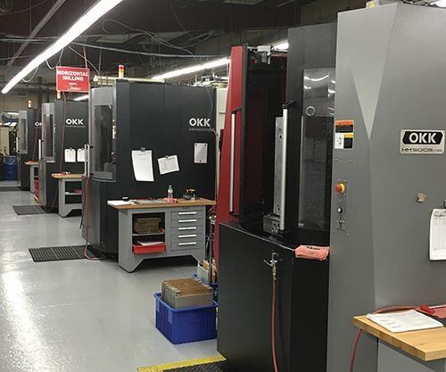 OKK horizontal machining centers