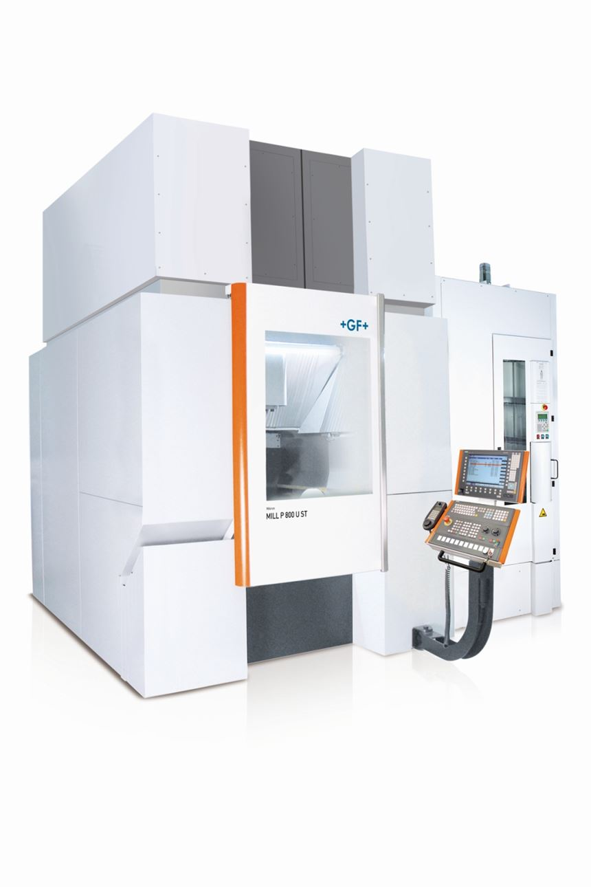 Mikron Mill P 800 U ST from GF Machining Solutions