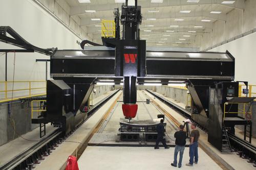 Large Ingersoll gantry at W Industries