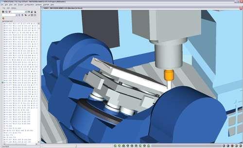 Vericut machine simulation