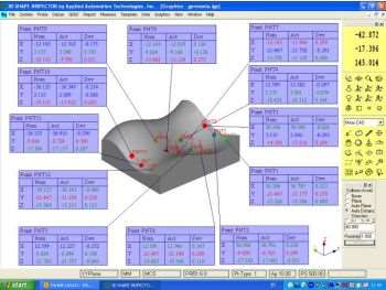Marposs' 3D Shape Inspector part measurement and verification software
