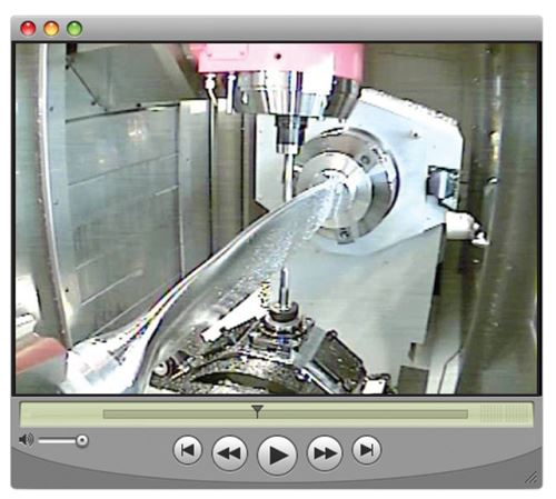 pinch milling on a Mori Seiki NT4300