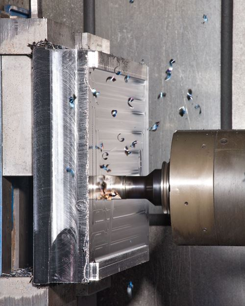 rough milling steel