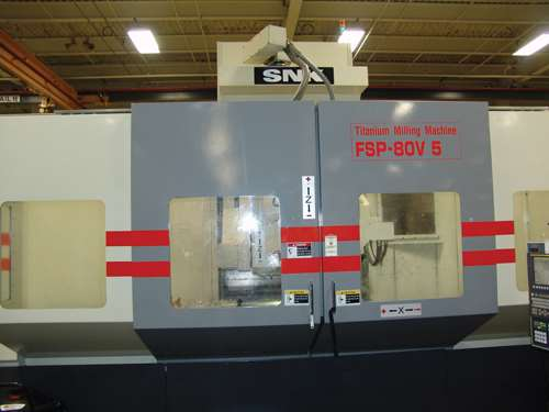 4K rpm machining center
