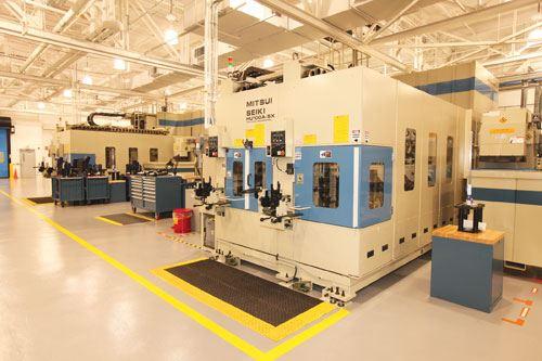 twin machining centers