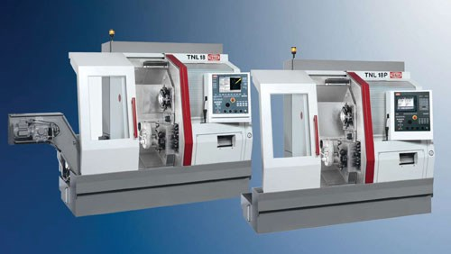 five-axis TNL18P Swiss-type