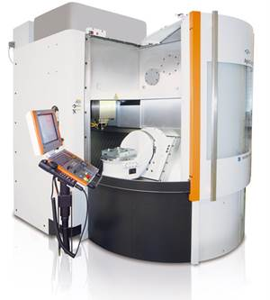 GF AgieCharmilles Mikron HSM 600U LP high-speed milling center
