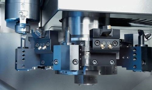 Emag's VL2P vertical turning center reduces chip-to-chip times