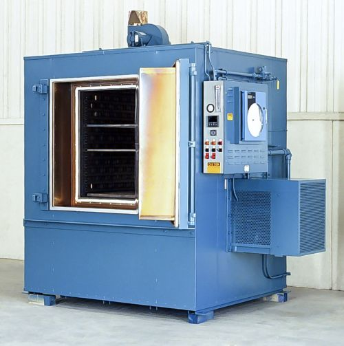 Grieve No. 855 heat-treating oven
