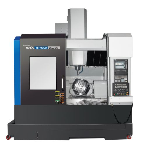 Hyundai-Wia's Hi-Mold series of high speed VMCs is designed for precision mold machining
