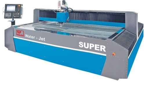 Knuth Machine Tools' waterjet cutting systems