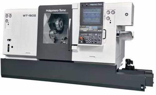 Methods' Nakamura-Tome WT-150 II eight-axis multitasking turning center