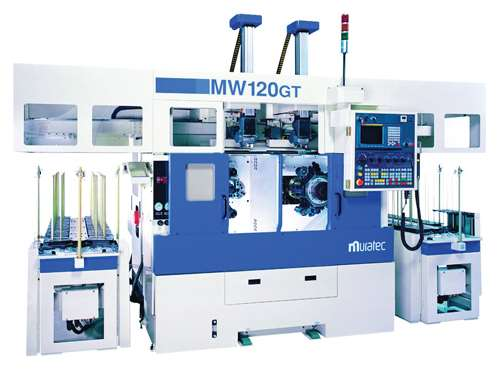 MW120GT twin-spindle CNC chucker