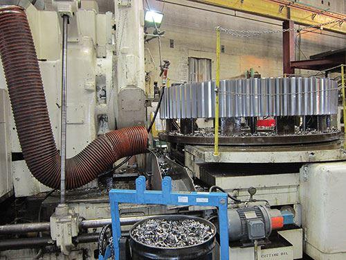 L&H Industrial gear shaper