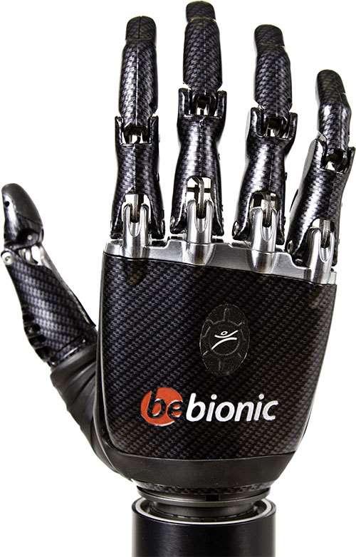 Bebonic3 prosthetic hand