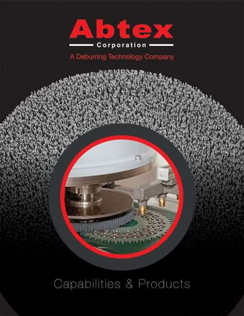 Abtex abrasives catalog and capabilities brochure