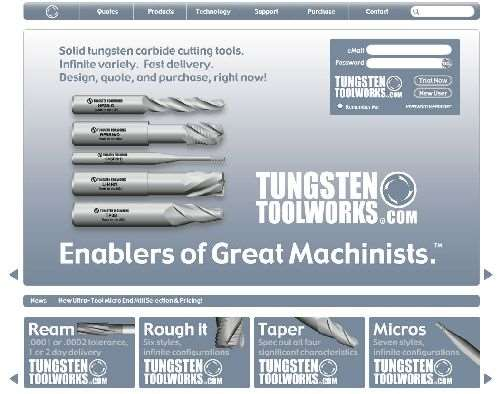 Tool Alliance Tungsten ToolWorks website
