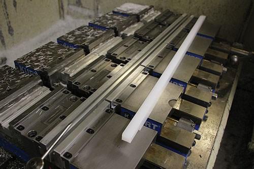 aluminum dovetailed extrusions