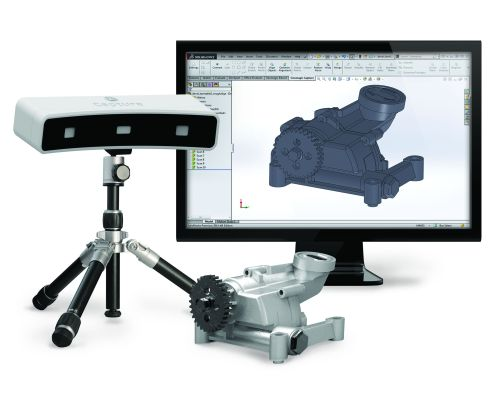 3D Systems Geomagic Capture desktop scanner and software