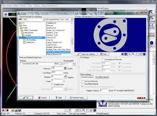 Omax Intelli-Max 20 software suite
