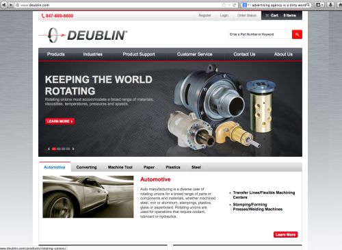 Deublin Co. website