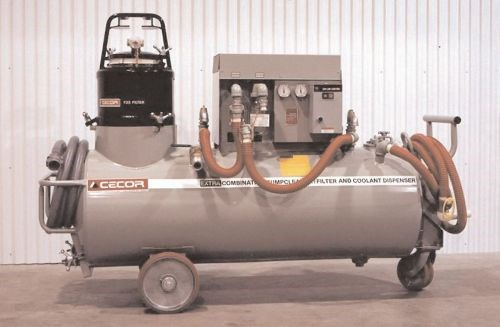 Cecor CE-30 Extra-Power twin-tank sump cleaner and dispenser
