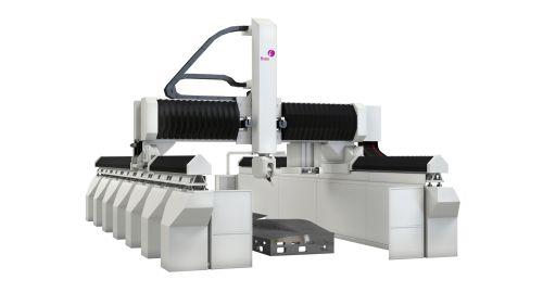 Fives Cincinnati modular Precision Mill/Trim five-axis gantry machine tool