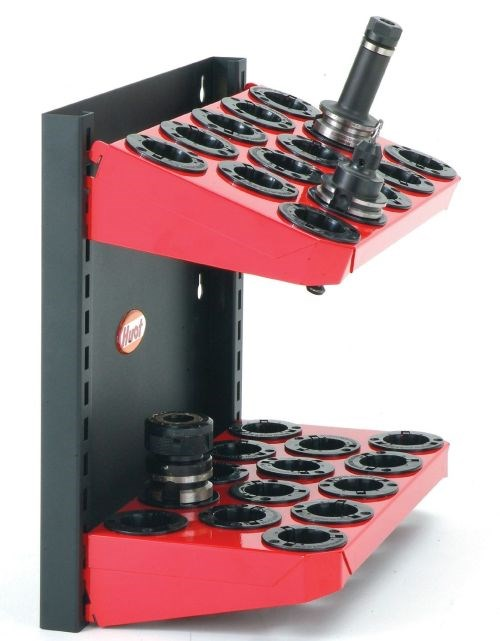 Huot machine mount rack