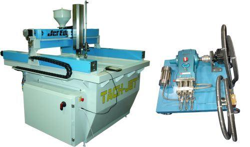 Jet Edge Tach-Jet waterjet cutting system