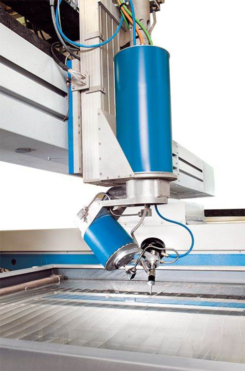 Knuth five-axis waterjet