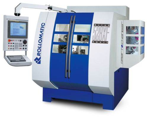 Rollomatic Grindsmart 528XF six-axis grinder