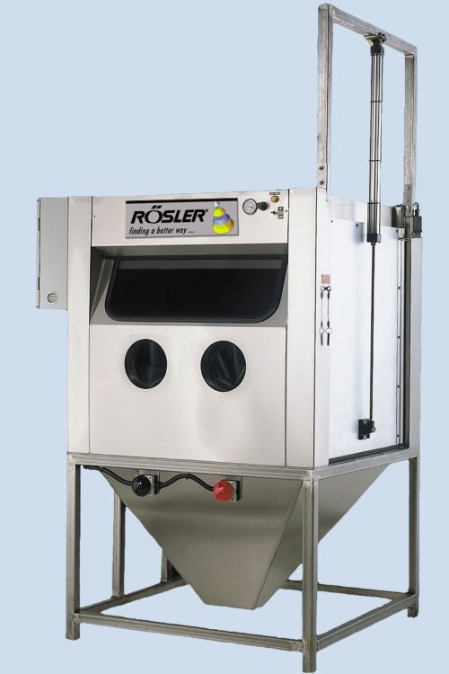 Rosler KS wet blast machines