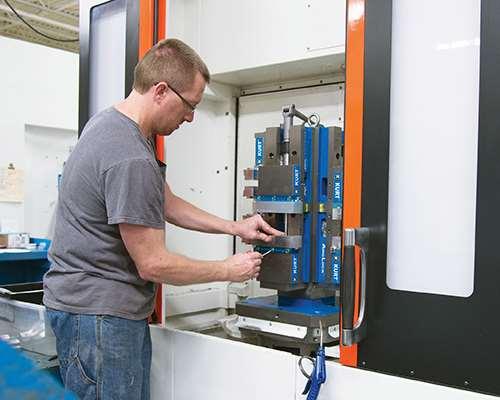 Kurt Manufacturing DoveLock system