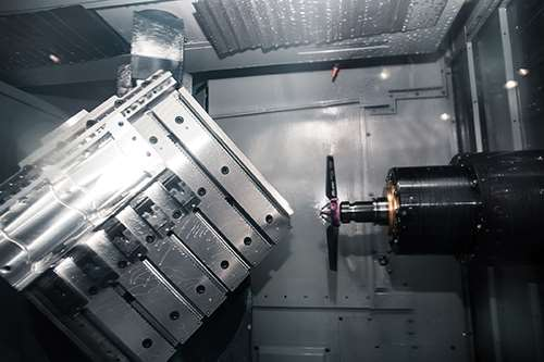 automated five-axis machining