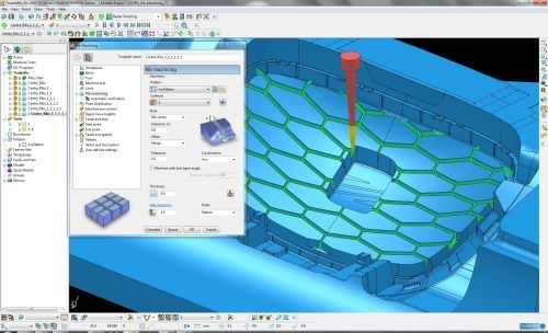Delcam PowerMill CAM software
