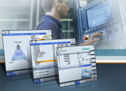 Siemens Sinumerik Operate GUI