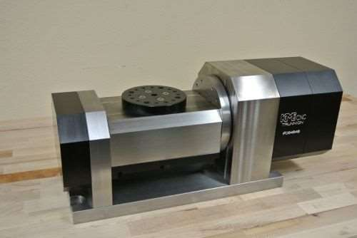 KME CNC five-axis trunnion table