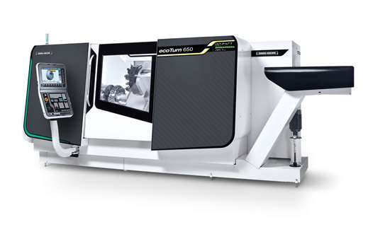 DMG MORI EcoTurn 650 turning center