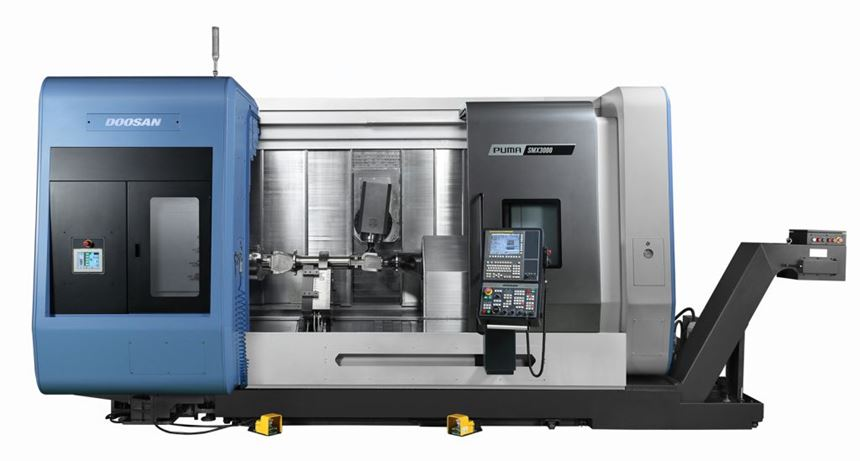 Doosan Puma SMX 3100 S turn-mill multitasking machine