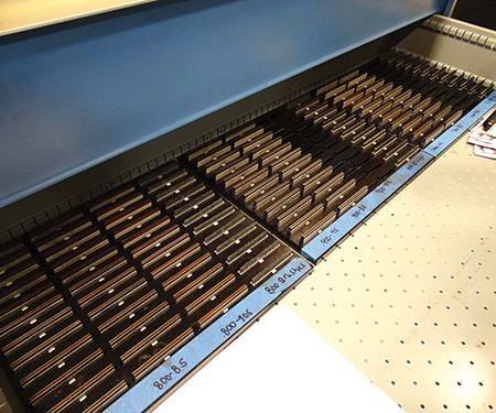 selection of honing abrasives