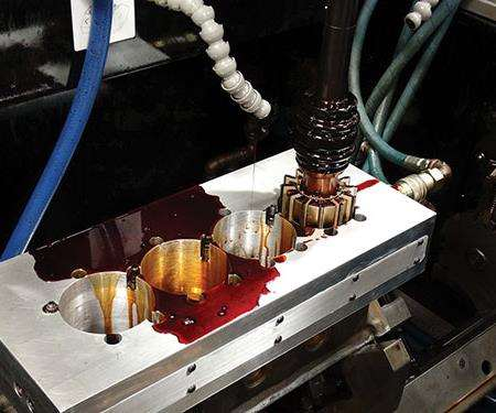 honing with a heated torque plate