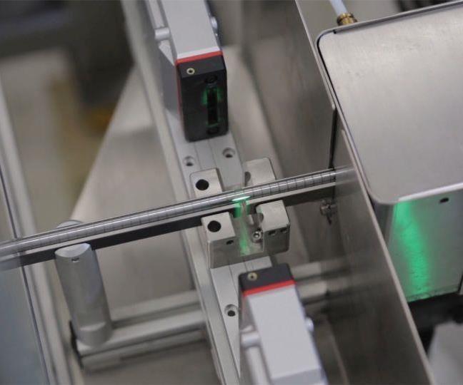 laser diameter check