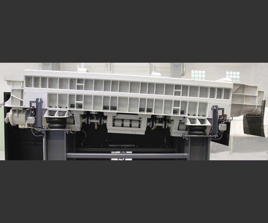 multi-deck vibratory screening unit