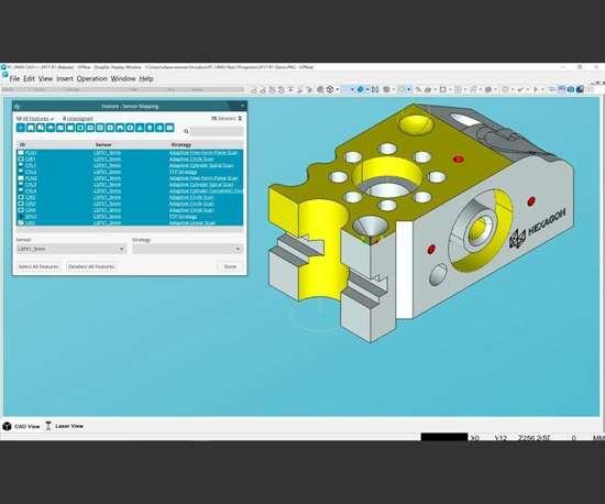 Hexagon Manufacturing Intelligence PC-DMIS 2017 R1
