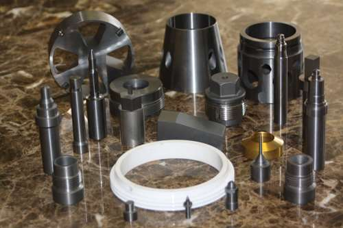 automotive, aerospace and oilfield parts