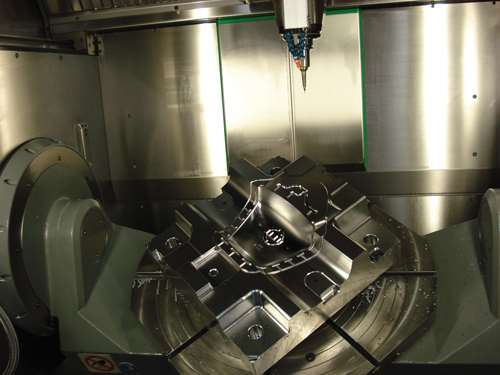 five-axis machine at Eifel