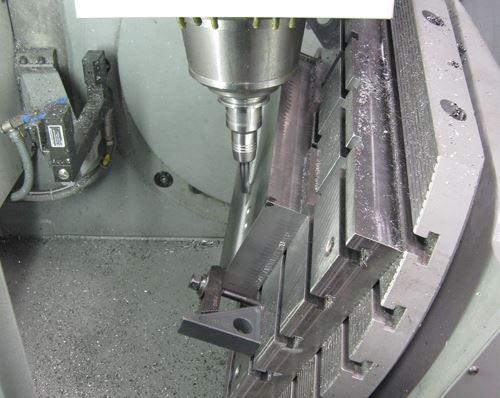 3+2 machining center