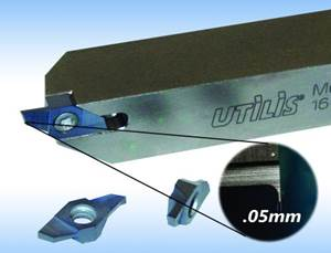 Swiss Tools for Micro Grooving, Turning